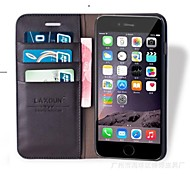 Fashion® Laxdun  Genuine Leather wallet case for iphone 6  4.7 with Stand Card Slot (Assorted Color)