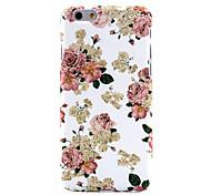 elegante diseño de la rosa caso duro para el iphone 6