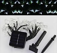 sor-20-25 solar lámpara de energía campana vacaciones cadena decoración cadena patio con jardín luz 20LED 4.8m