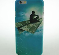 People On The Paper Airplane Pattern Hard Case for iPhone 6