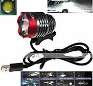 Radlichter , Frontleuchten / Scheinwerfer / Radlichter - 1 Modus 1000 Lumen Wasserdicht / Stoßfest Andere x 1 USBCamping / Wandern /