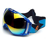 HB Blue Frame Double Lens Anti-fog Snow Googgles