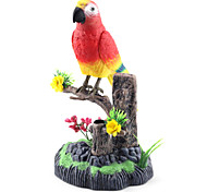Colorful Voice-Control Parrot with Pen Holder Tree Branch Toys