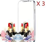 miroir protecteur d'écran pour le i9500 de Samsung Galaxy (3pcs)