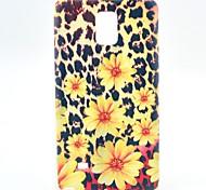 léopard fleur TPU souple pour Samsung Galaxy Note 4