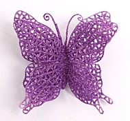 Christmas Tree Decoration Butterfly Simulation Flower