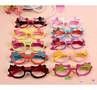 Bowknot Shape Girls Glasses for Party/Fans(Random Color)