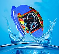 Men's Waterproof Plastic  Movement Fashion Electronic Watch(Assorted Colors)