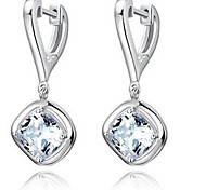 925 Sterling Silver Drop Earrings
