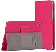 8 '' de couro pu com ultra-fino para lenovo s8-50 capa tablet pc