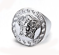 Fashionable Portrait Alloy Men's Ring