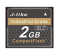 J-Like® CompactFlash Industrial Grade 2GB Memory Card SLC Chip