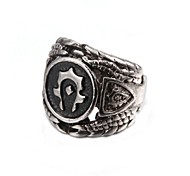 Fashionable Black Men's Ring