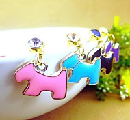 Playful Puppy 3.5mm Anti-dust Plug for iPhone 6 and Others(Random Colors)