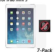 [7-pack] hd anti-huella digital protector de pantalla resistente para el mini iPad 3