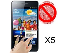 Matte Screen Protector for Samsung Galaxy S2 I9100(5 pcs)