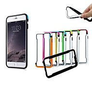 XUNDD TPU Protective Soft Bumper Frame Case for iPhone 6 Plus  (Assorted Color)