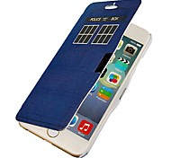 Blue Door Magnetic Flip Full Body Case with Hole for iPhone 6