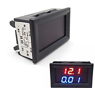 DC 0-100V/10A LED Dual Display Ammeter Voltmeter Volt Amp Meter for Cars Motorcycles Yacht Mechanical Equipment Etc