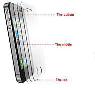 High Transparent Front+Back Screen Protector with General Scratch Prevention Material for iPhone 6(5 PCS)