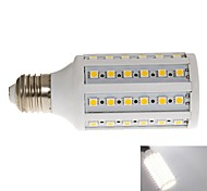E26/E27 10 W 60pcs SMD 2835 1000lm LM Cool White T Corn Bulbs AC 220-240 V