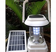 Solar Powered LED Camping and Fence Night Lamp
