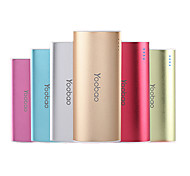 Yoobao 5200mAh Power Bank External Battery for iphone 6/6 plus/5/5S/Samsung S4/S5/Note2