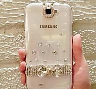 modello di cristallo abs Back Cover per Samsung Galaxy Note 3