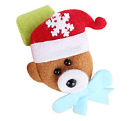 colorido círculo aplauso pulseira urso presente de Natal