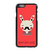 Personalized Phone Case - Rabbit Design Metal Case for iPhone 6
