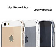 Ultra Thin Anti Watermark TPU Soft Clear Cover for iPhone 6 Plus