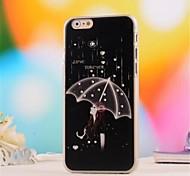 3 d gesetzten Schneckenwelle muster pc soft cover für iphone 6