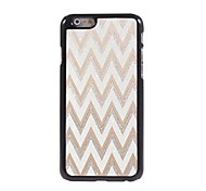White Ripple Design Aluminium Hard Case for iPhone 6