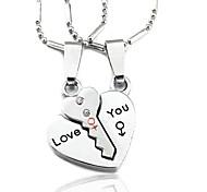 Happy Couples Necklace Lock