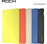 ROCK Ultra-Thin Business Pprotection Holster Smart Case for IPad Air2(Assorted Colors)