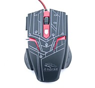 R Horse  Gaming Metallic Body Mouse 5 Buttons and 1 Wheel 3200 DPI