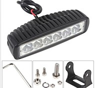 18W levou mini-suv spot light worklight