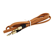 1M 3.28FT Audio 3.5mm to 3.5mm M/M Note3 S5 Mobile Phone AUX Audio Cable