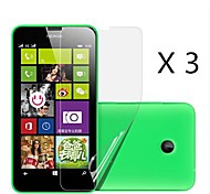 (3 Stück) High-Definition-Display-Schutz für Nokia Lumia 630/635