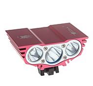 Radlichter , Frontleuchten / Scheinwerfer / Radlichter Modus 3000 Lumen Wasserdicht / Stoßfest 18650 x 4 BatterieCamping / Wandern /