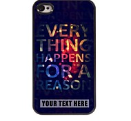 персонализированные телефон случае - элегантный дизайн корпуса металл для iPhone 4 / 4s