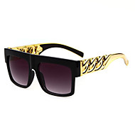 Anti-Reflective Square Plastic Classic Sunglasses