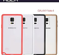 ROCK Ultra-Thin Transparent Shock The Whole Protection Shell for Samsung Galsxy Note4(Assorted Colors)