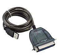 apower-link D-007  Parallel Printer Cable USB 2.0 to IEEE1284- Black (150cm)