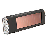 Solar Power Energy LED Flashlight Torch Key Chain
