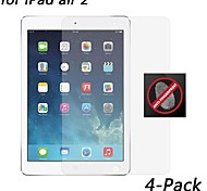 [4-Pack] HD Anti-Fingerprint Resistant Screen Protector for iPad air 2