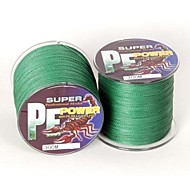 300M / 330 Yards PE Braided Line / Dyneema / Superline Fishing Line Green 18LB 0.16 mm ForSea Fishing / Fly Fishing / Bait Casting / Ice