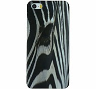 Zebra Pattern PC Hard Back Cover Case for iPhone 5/5S