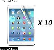 [10-pack] Protector de pantalla anti-reflejo prima de alta calidad para el ipad 2 del aire