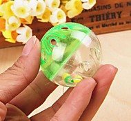 Cat / Dog Pet Toys Ball Bell Random Color Plastic